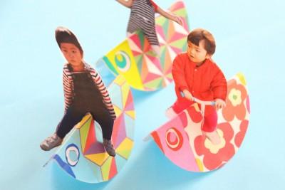 【子供の日飾り付け】北欧柄こいのぼり写真たての作り方