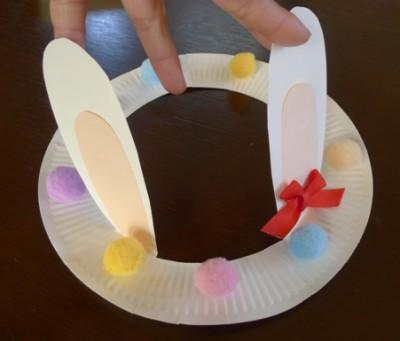 イースター・ハット♪簡単!紙皿工作♪
