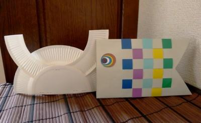 【工作】端午の節句♪封筒→「鯉のぼり」&紙皿→「兜」
