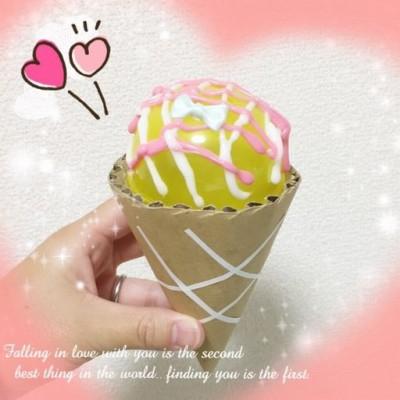 材料はガチャガチャのカプセルケースとダンボール!「ままごとのアイス」の作り方