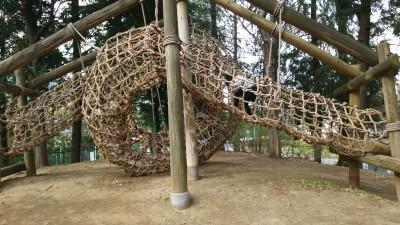 【おでかけ】GWに!難易度高!平和島アスレチック公園(小学生編)!