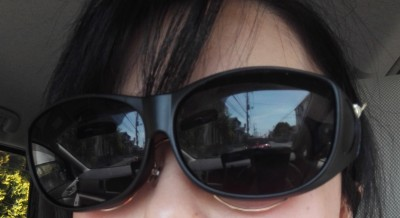 【紫外線&眩しさ対策】ダイソーで発見!メガネの上からかけれるサングラス