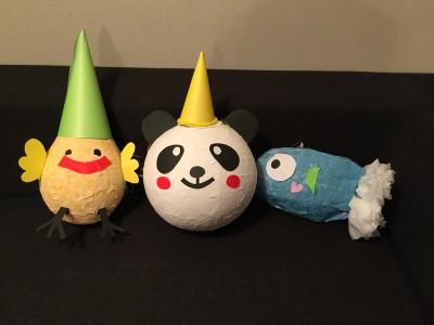【イベント】誕生日やパーティーに!子供達も大喜び「ピニャータ」作り1