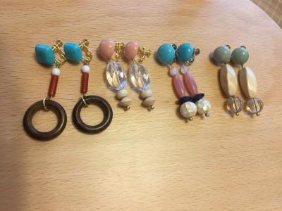 流行りのイヤリングをお安く手作り!