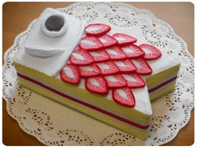 【子どもの日】フェルトでこいのぼりケーキ