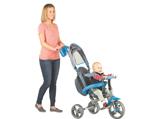 子どもの成長に合わせて三輪車に変形する新しいベビーカー「Strolly Compact」を1人に