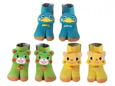 幼児用の地下足袋『FUMFUM ファンファン (15㎝)』を3人にプレゼント