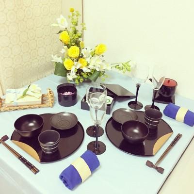【父の日】テーブルコーディネート&フラワーアレンジメント