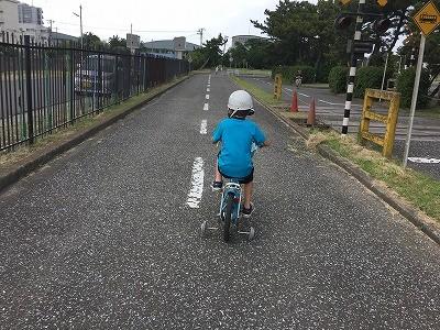 自転車が乗れない小学2年生 自転車が乗れる6歳(年長)どうしよう!!