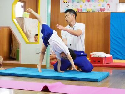 体操の先生に聞く!速く走るための練習法と運動が得意な子に育てるヒケツ