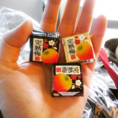 チロルの完熟梅は高級なお味!最近の朝おやつと活動報告。