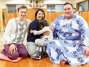 <夢育>かがやけ!みんなの夢「大好きな照ノ富士に会えたよ」