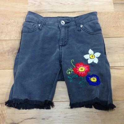 【リメイク】大人のズボンから子供の刺繍フリンジパンツ・作り方