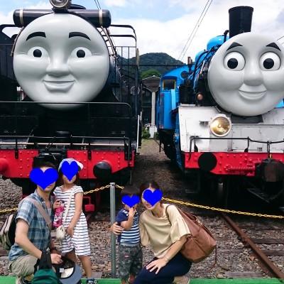 【家族でおでかけ】本物のトーマスに会える!大井川鐡道とは?
