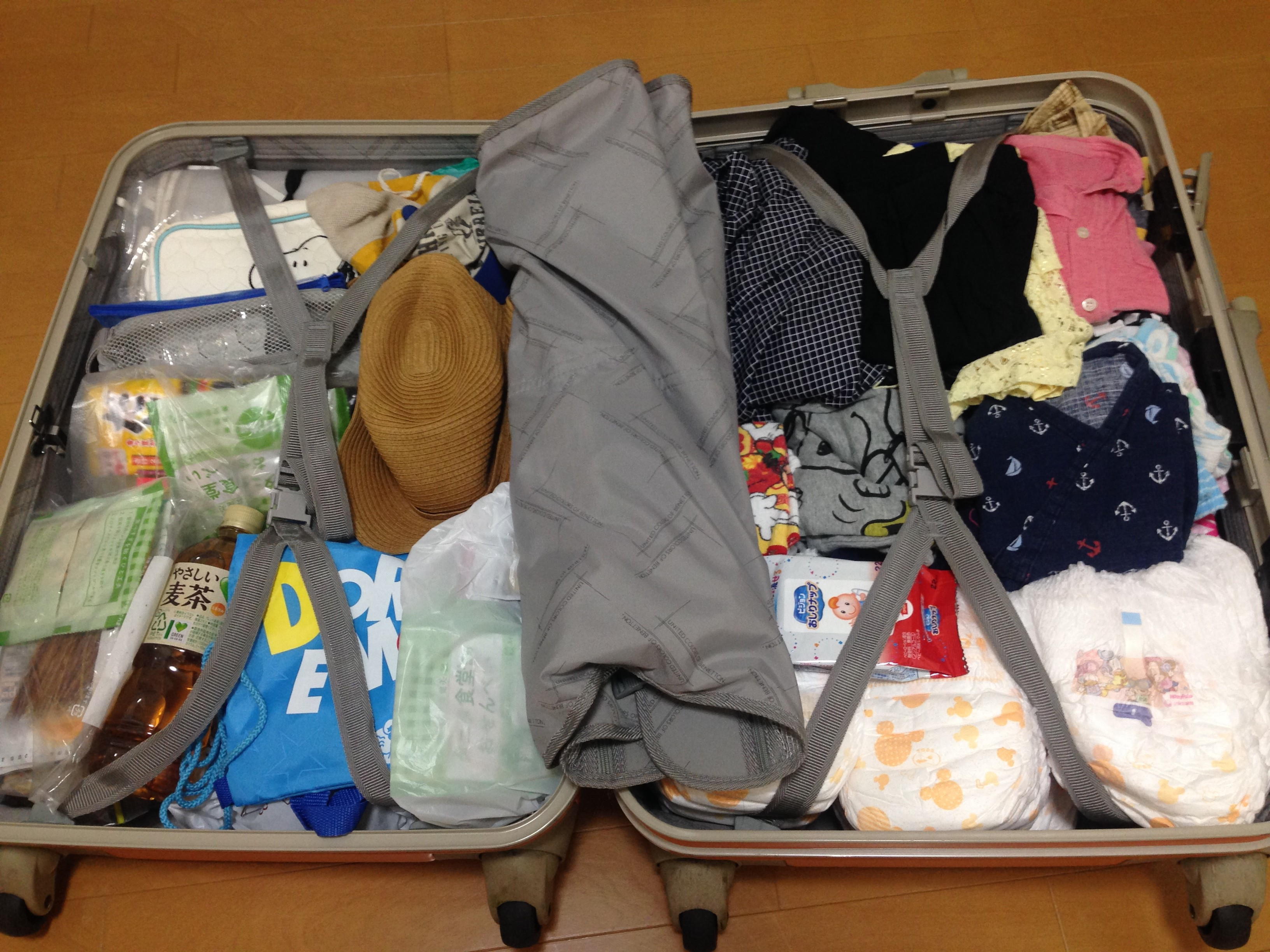 425a9a6e1d カナダ旅行記【準備編】母子旅行、荷物の中身全部見せます! | あんふぁんWeb