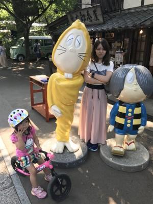 【夏休みのおでかけ】新宿から40分!深大寺で子どもと一緒に食べ歩き!