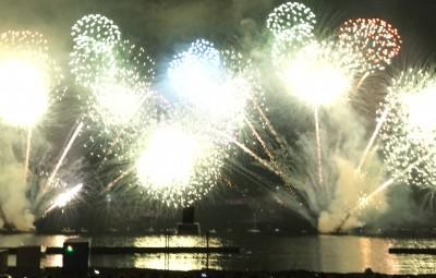 音とシンクロ花火!べっぷ火の海祭り[大分の夏2017]