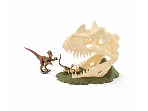 「巨大恐竜の骸骨(がいこつ) トラップ」を2人にプレゼント