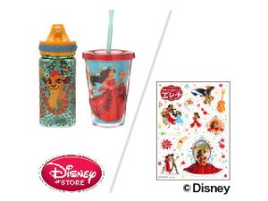 「タンブラー エレナ」と「エレナステッカー」、または「水筒(ウォーターボトル) ライオン・ガード」をそれぞれ2人に