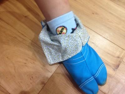 【子供の外反母趾対策】足袋ソックスと地下足袋を買ってみたよレポ。