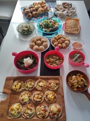 【lunch会】夏野菜をたっぷり使った彩り豊かなおもてなしメニュー