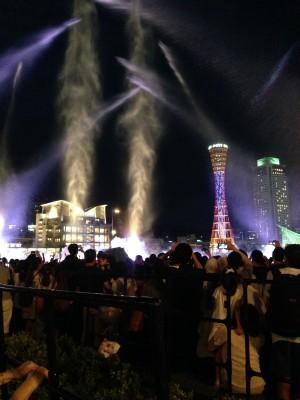 【イベント・神戸】観覧無料!水濡れ注意!大迫力ショー☆