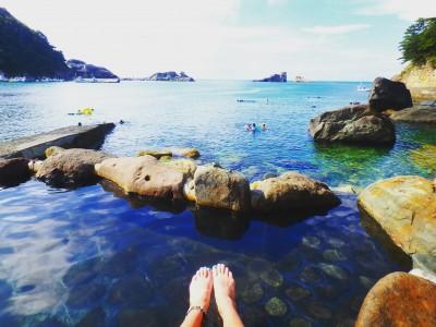 【夏休み海水浴】伊豆なのに混んでない‼‼西伊豆は穴場なんです!