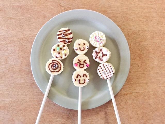 簡単可愛いチョコバナナの作り方親子で作ってお家で夏祭り気分