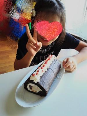 可愛い女の子とマンツーマンでケーキ作り('ω')♥