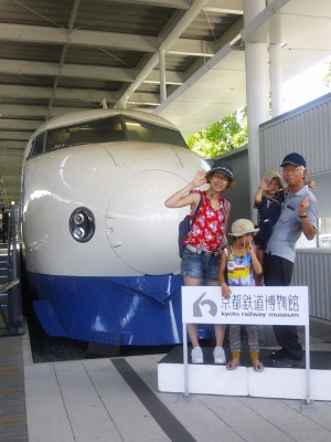京都鉄道博物館へ!平日の混み具合やランチBOXの中身はどんな感じ?