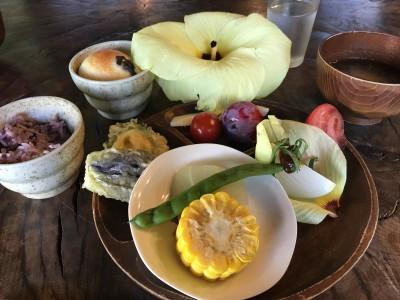 たまには野菜そのものを感じる・・身体に優しい 農園料理は、いかが??