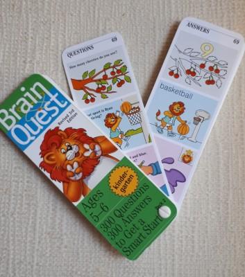 英語のワークブックBrain Quest(ブレインクエスト) 携帯版も