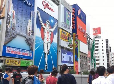 大阪道頓堀→アメリカ村 久しぶりに行ってみた!