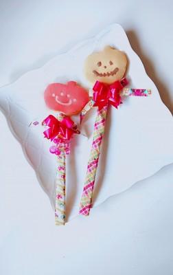 【行事ママ】アイシングクッキーでハロウィンステッキ♪