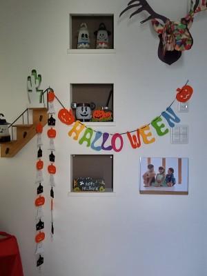 【イベント】ハロウィンの準備始めました。