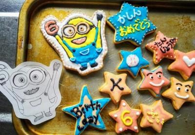 ハマりだしたアイシングクッキー!100均の材料で出来て始めやすい!