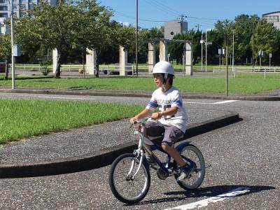 小学2年生男子 自転車を乗れるようになる!!