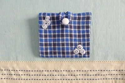 携帯用BOXティッシュケースの作り方:シャツをリメイク♪