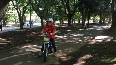自転車の補助輪外し練習はたったの30分?!上手に乗れるコツ教えます!