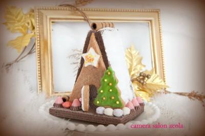 【行事ママ】クリスマス!簡単お菓子の家作り方