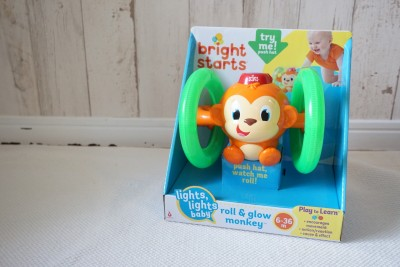 【おもちゃレポート】8ヶ月の甥っ子に光って動くおもちゃをプレゼント
