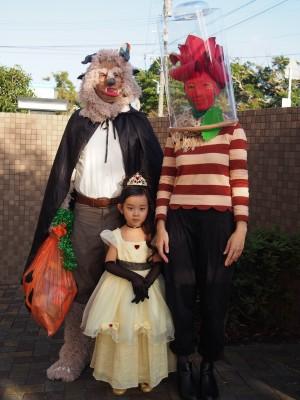 ハロウィン仮装☆友達familyの4年間に感動!
