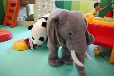 動物たちがお出迎え!乳幼児におすすめの「ZOO Kids Cafe」