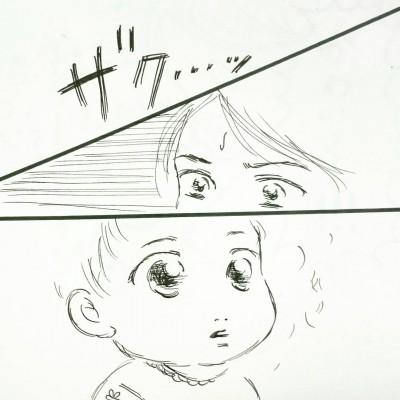 【描いてみた】初めての・・・ザクッ!