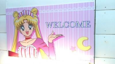 セーラームーンカフェに行ってきた!詳細、感想、美奈子が可愛すぎる。
