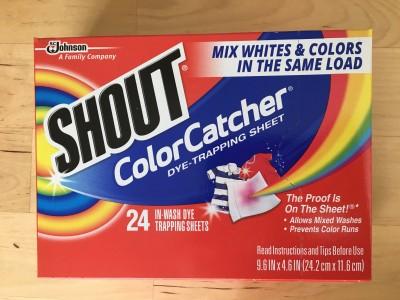 家事便利アイテム「洗濯物の色移り防止シート」を使ってみた!