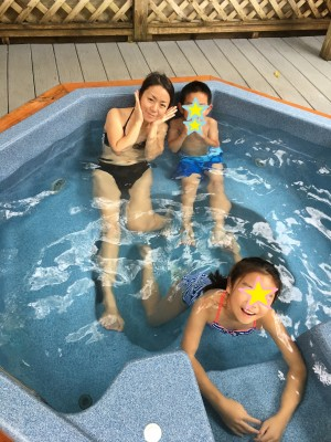 今年もいざ!アメリカで温泉、貸切露天風呂でござる♪@Hot Springs NC