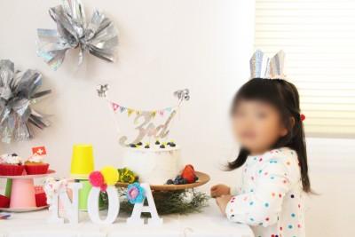 100均材料で誕生日手作り飾り付け1|アルファベットオブジェ・王冠作り
