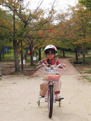 娘が自転車に乗れるまでの長い道のりと大惨事