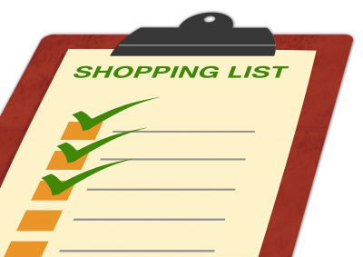 ワーキングマザーの家事分担方法(買い物編)常備リストを作ろう